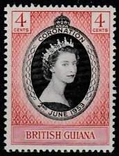 British Guiana postfris 1953 MNH 198 - Coronation Elisabeth II (050)