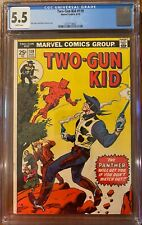 Two-Gun Kid #119 CGC 5.5 1974 (Reprint 1st app of The Panther, Black Panther pro