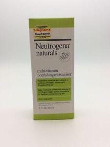 Neutrogena 570075 Naturals Multi Vitamin Nourishing Moisturizer 3 Fl. Oz