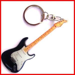 ERIC CLAPTON GUITARE PORTE CLE ! Collection Strato Noir Blackie Blues Rock Hero