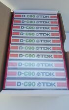 TDK D-C90 : NEW & SEALED
