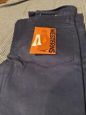 Vintage Westerns Brand Pants Hippy Flare 29� Waist 29� Inseam With Orig Tags