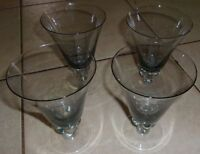 "Small Stemware Glasses 2 1/4""H  Wine/Sherry , Set of 4"