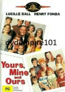 Yours Mine And Ours DVD Genuine Henry Fonda New and Sealed Australian Release