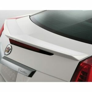 OEM Factory Cadillac CTS Spoiler Coupe 2011 2014 New Rear White Diamond 23461786