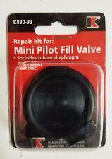 Keeney K830-33 Repair Kit for Mini Pilot Fill Valve, Black *Fast Shipping* New