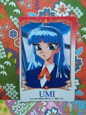 MAGIC KNIGHT RAYEARTH LUCHADORAS DE LEYENDA SEGA rare doll  card