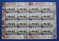 Canada (CN20) 2004 Wildlife Habitat Conservation Stamp Sheet (MNH)