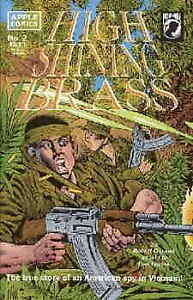 High Shining Brass #2 VF/NM; Apple | save on shipping - details inside