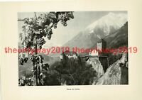 Merano (Meran), Tyrol, Italy, Book Illustration (Print), 1935