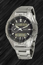 Casio TITAN Wave Ceptor-Tough SOLAR FUNKUHR,WVA-M650TD-1A-FUNK,Analog, Digital