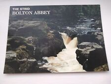 POSTCARD THE STRID BOLTON ABBEY WRITTEN BUT UNPOSTED