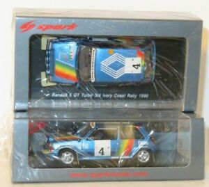 1/43 Renault 5 GT Turbo  DIAC  Ivory Coast Rally 1990  A.Oreille / M.Roissard
