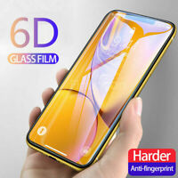 Smart Cellphones 6D Curved Full Cover Real Tempered Glass Screen Protector Film