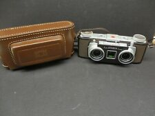 Kodak 35mm stereo camera with case clean beautiful case