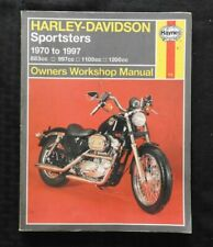 1970-1997 HARLEY DAVIDSON SPORTSTER MOTORCYCLE SERVICE MANUAL 883 997 1100 1200