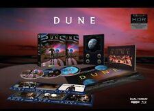 Dune Deluxe Steelbook (4K Uhd+Blu-ray+Poster+Art Cards+Book) Sealed Pre-Order