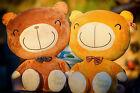 """Choco Teddy Light Brown And Dark Brown Medium Teddy Bear 16"""" Inches / 40 cm"""