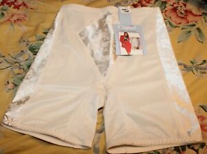 80s Panty Girdle Off White NWT Size Large Cupid Thigh Trimmer Firm Control