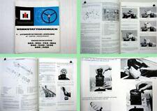 Werkstatthandbuch IHC 553 654 724 824 946 955 bis 1246 Danfoss Lenkung 1977