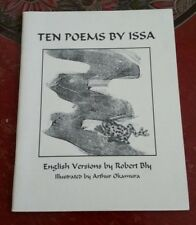 Ten Poems by Issa: English Versions by Robert Bly, scarce chapbook