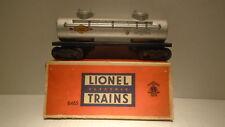 LIONEL TRAIN 6465 SUNOCO 2 DOME TANK CAR