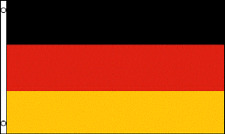 3x5 German Germany Plain 3'x5' House Banner grommets Super Polyester