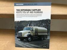 Mack Defense Granite military water/fuel tanker truck brochure