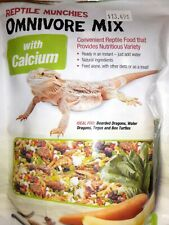 New listing Zilla Reptile Food Munchies Omnivore Mix With Calcium, 4-Ounce, Ex: Sep 21, 2020