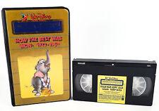 Dumbo VHS Tape 1985 Disney Black Diamond Padded Black Clamshell