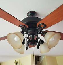 "Harbor Breeze Edenton 52"" Oil-Rubbed Bronze Ceiling Fan with Light Kit"