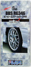 Fujimi TW35 BBS RG346 Wheel & Tire Set 17 inch 1/24 Scale Kit