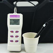 Handheld Conductivity Meter Temperature Tester 2in1 Memory 99 IrDA Port 8303