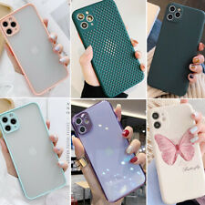 F iPhone 11 Pro Max 8 Plus XS Max XR Slim Cute Full Protective Phone Case Covers