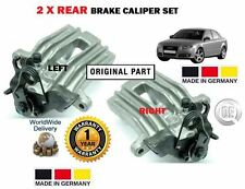 FOR AUDI A4 1.6 1.8 1.9 2.0 3.0 2000-2008 2x REAR LEFT + RIGHT BRAKE CALIPER SET