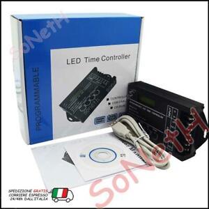 CENTRALINA CONTROLLER RGB LED TIMER PROGRAMMABILE ALBA TRAMONTO PER ACQUARIO