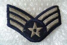 Patch- Airman U.S. Air force Senior airman 3 stripes chevron Military Patch