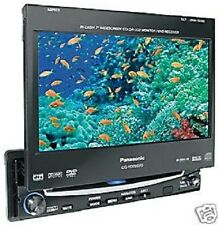 "PANASONIC CQ-VD7001N MP3 DVD 7"" TFT in 16:9  Moniciever Autoradio DIN 1 Jahr G."
