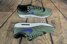 Nike Air Max 1 Premium 93 Clay Green/Royal Blue 875844-300 Mens Shoes Size 13