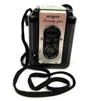 Vintage Argus Seventy Five Camera with leather case and strap 75