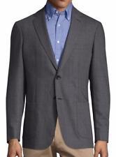 New with Tag - $695 Gant R. Summer Grey Wool Blend Notch Lapel Blazer US 34 (44)