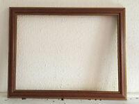 cadre tableau ancien en bois début XXe-s pour toile 51.5 x 38.5cm