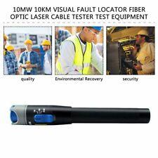10mW 10KM Visual Fault Locator Fiber Optic Laser Cable Test Equipment ATAU