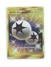"""Promo Carte Pokemon """"Double Energie Incolore"""" 166/145 SM02 Française 100% neuve"""