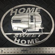 "Vintage Camper ""Home Sweet Home"" Wall Art"