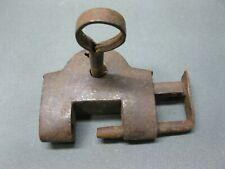 Old Padlock 7 cm with Key Lock Lock