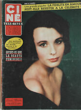 Ciné Télé-Revue n°16- 1959  Jean Gabin Tony Curtis Janet Leigh Alain Delon