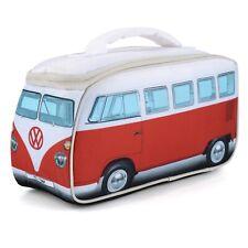 Officially licensed Volkswagen camper van lunch bag red
