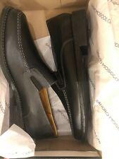 NIB Sandro Moscoloni Men's Jeffrey Loafer Slip on Genuine Leather Dress Shoes 9D