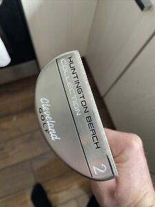"Cleveland Putter Huntington Beach #2 with head cover 34"" mint condition"